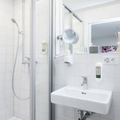 Отель Hottingen Швейцария, Цюрих - отзывы, цены и фото номеров - забронировать отель Hottingen онлайн ванная