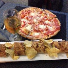 Отель Albergo Ristorante Pizzeria Bellavista Каренно питание фото 2