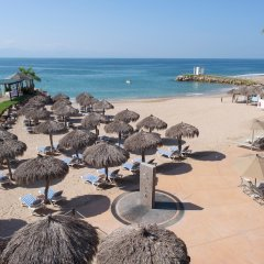 Отель Villa del Palmar Beach Resort and Spa, Puerto Vallarta пляж фото 2