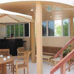 Отель Бутик-Отель Bibee Maldives Мальдивы, Северный атолл Мале - отзывы, цены и фото номеров - забронировать отель Бутик-Отель Bibee Maldives онлайн балкон