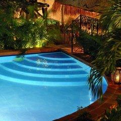 Отель La Pasion Hotel Boutique Мексика, Плая-дель-Кармен - отзывы, цены и фото номеров - забронировать отель La Pasion Hotel Boutique онлайн бассейн