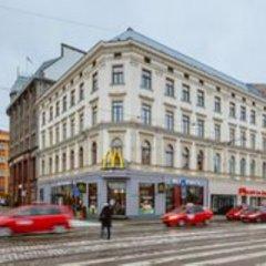 Отель Liberty Mansard Латвия, Рига - отзывы, цены и фото номеров - забронировать отель Liberty Mansard онлайн вид на фасад