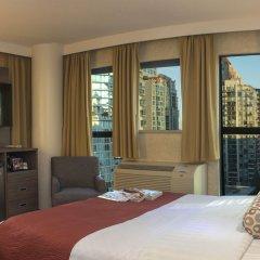 Отель GEC Granville Suites Downtown Канада, Ванкувер - отзывы, цены и фото номеров - забронировать отель GEC Granville Suites Downtown онлайн комната для гостей фото 3