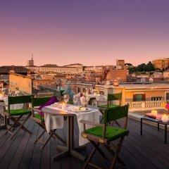 Отель Singer Palace Hotel Италия, Рим - отзывы, цены и фото номеров - забронировать отель Singer Palace Hotel онлайн балкон