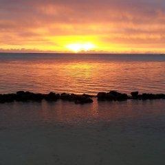 Отель Hibiscus Французская Полинезия, Муреа - отзывы, цены и фото номеров - забронировать отель Hibiscus онлайн пляж фото 2