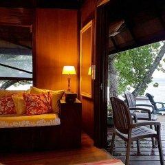 Отель Motu Mapeti - Tahiti Private Island балкон