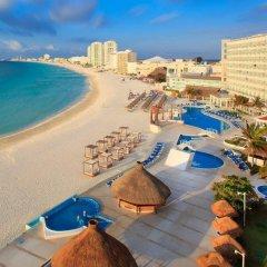 Отель Krystal Cancun Мексика, Канкун - 2 отзыва об отеле, цены и фото номеров - забронировать отель Krystal Cancun онлайн пляж фото 4