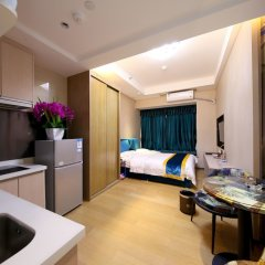 Апартаменты Guangzhou Chimelong Heefun International Service Apartment Гуанчжоу в номере фото 2