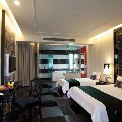 Отель Long Beach Luxury Villas комната для гостей
