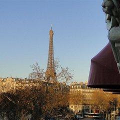 Отель Hôtel Derby Eiffel Франция, Париж - 1 отзыв об отеле, цены и фото номеров - забронировать отель Hôtel Derby Eiffel онлайн балкон