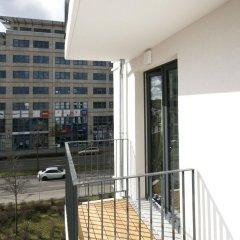 Отель Leipzig Apartmenthaus балкон