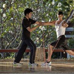 Chiva-Som International Health Resort Hotel фитнесс-зал фото 3