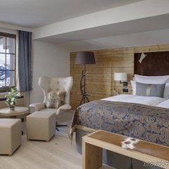 Отель HUUS Gstaad Швейцария, Занен - отзывы, цены и фото номеров - забронировать отель HUUS Gstaad онлайн комната для гостей фото 2