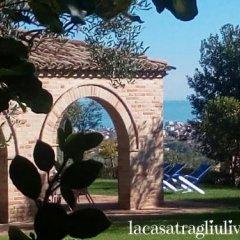 Отель B&B La Casa tra gli Ulivi Чивитанова-Марке фитнесс-зал