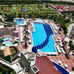 Silence Beach Resort Турция, Сиде - 1 отзыв об отеле, цены и фото номеров - забронировать отель Silence Beach Resort - All Inclusive онлайн бассейн фото 3