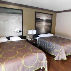 Отель Super 8 by Wyndham Los Angeles США, Лос-Анджелес - отзывы, цены и фото номеров - забронировать отель Super 8 by Wyndham Los Angeles онлайн комната для гостей фото 3