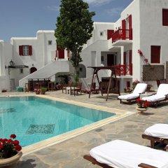 Отель Despotiko Hotel Греция, Миконос - отзывы, цены и фото номеров - забронировать отель Despotiko Hotel онлайн бассейн