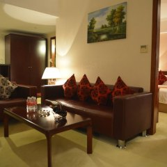Отель Shanghai Airlines Travel Hotel Китай, Шанхай - 1 отзыв об отеле, цены и фото номеров - забронировать отель Shanghai Airlines Travel Hotel онлайн комната для гостей фото 9