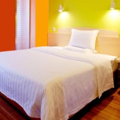 Отель 7 Days Inn Guangzhou Huadu Jianshebei Road Branch комната для гостей