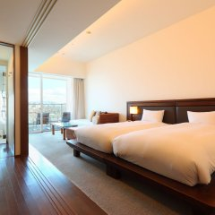 Отель Marinoa Resort Fukuoka Фукуока комната для гостей