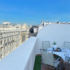 Отель Madrid Suites Sol балкон