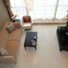 Отель Guangzhou Grand View Golden Palace Apartment Китай, Гуанчжоу - отзывы, цены и фото номеров - забронировать отель Guangzhou Grand View Golden Palace Apartment онлайн удобства в номере фото 2