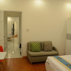 Апартаменты Smiley Apartment 2 комната для гостей фото 4