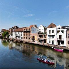 Отель Ghent River Hotel Бельгия, Гент - отзывы, цены и фото номеров - забронировать отель Ghent River Hotel онлайн приотельная территория фото 2