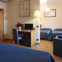 Hotel Clarici Сполето удобства в номере