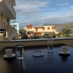 Отель Privé Hotel and Apartment Албания, Ксамил - отзывы, цены и фото номеров - забронировать отель Privé Hotel and Apartment онлайн балкон