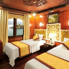 Отель Majestic Halong Cruise комната для гостей фото 2