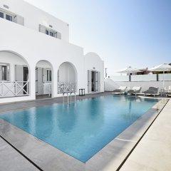 Отель Tramonto Private Villa Греция, Остров Санторини - отзывы, цены и фото номеров - забронировать отель Tramonto Private Villa онлайн бассейн фото 2