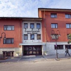 Отель Bodo Hotell вид на фасад