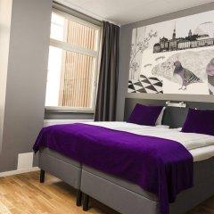 Отель Connect Hotel City Швеция, Стокгольм - 2 отзыва об отеле, цены и фото номеров - забронировать отель Connect Hotel City онлайн комната для гостей фото 2