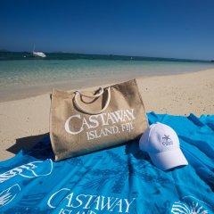 Отель Castaway Island Fiji пляж фото 2