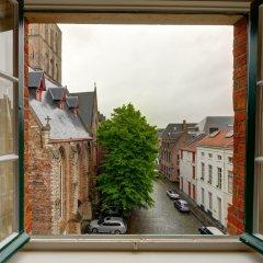 Отель Jacobs Brugge балкон