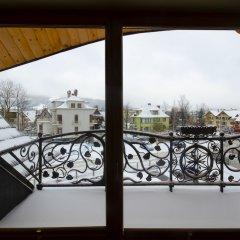 Отель Pensjonat Zakopianski Dwór балкон