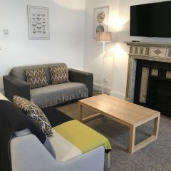 Апартаменты Gower Street Apartments Лондон комната для гостей фото 3