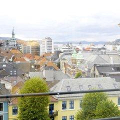 Отель Scandic Neptun Норвегия, Берген - 2 отзыва об отеле, цены и фото номеров - забронировать отель Scandic Neptun онлайн балкон