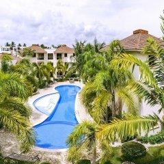Отель Pool Residence Rosa Hermosa Доминикана, Пунта Кана - отзывы, цены и фото номеров - забронировать отель Pool Residence Rosa Hermosa онлайн бассейн