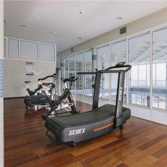 Отель Ambar Beach Испания, Эскинсо - отзывы, цены и фото номеров - забронировать отель Ambar Beach онлайн фитнесс-зал