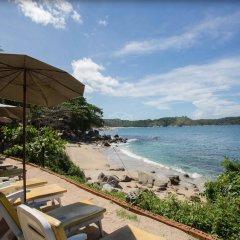Отель Baan Krating Phuket Resort пляж