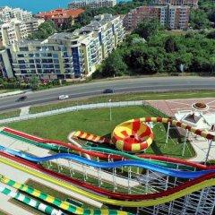Отель Aparthotel Marina Holiday Club & SPA - All Inclusive Болгария, Поморие - отзывы, цены и фото номеров - забронировать отель Aparthotel Marina Holiday Club & SPA - All Inclusive онлайн приотельная территория