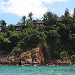 Отель Six Senses Samui пляж