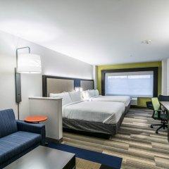 Отель Holiday Inn Express & Suites Jersey City North - Hoboken, an IHG Hotel США, Джерси - отзывы, цены и фото номеров - забронировать отель Holiday Inn Express & Suites Jersey City North - Hoboken, an IHG Hotel онлайн комната для гостей фото 4
