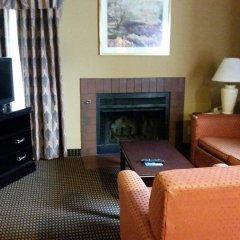Отель Hawthorn Suites Columbus North Колумбус интерьер отеля