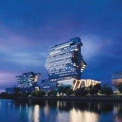 Отель Langham Place Guangzhou Гуанчжоу приотельная территория фото 2