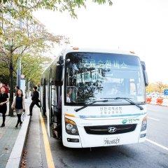 Отель Hu Incheon Airport Южная Корея, Инчхон - 1 отзыв об отеле, цены и фото номеров - забронировать отель Hu Incheon Airport онлайн городской автобус