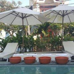 Отель Flamingo Villa Hoi An Вьетнам, Хойан - отзывы, цены и фото номеров - забронировать отель Flamingo Villa Hoi An онлайн бассейн фото 3