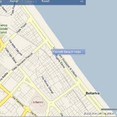 Отель Ferretti Beach Resort Римини городской автобус